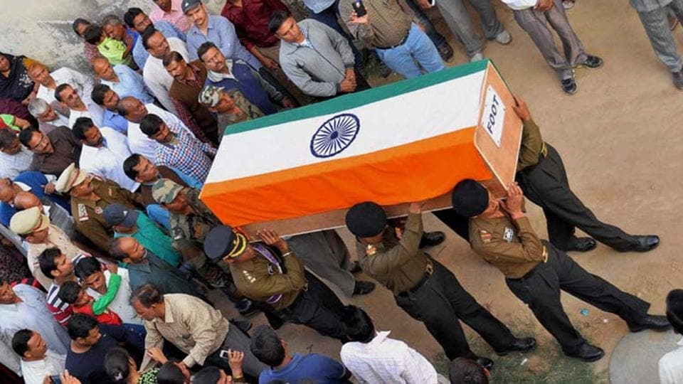 The body of an Indian Army soldier was found on Monday morning in Manipur's Bishnupur district. The soldier was from the 4 Assam Regiment.
