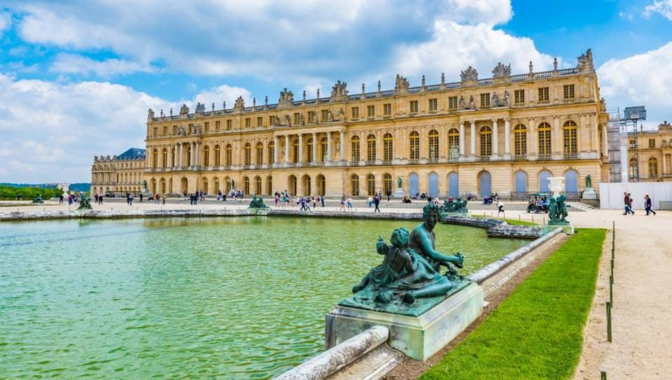 The Royal Palace of Versailles.