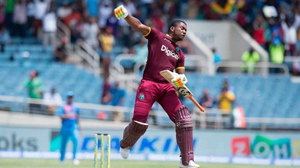 Evin Lewis's unbeaten 125 guided West Indies to a nine-wicket win against India in the one-off T20I at Kingston, Jamaica.