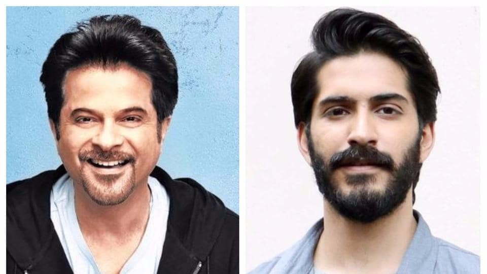 Actor Anil Kapoor will be working with son Harshvardhan in a biopic.