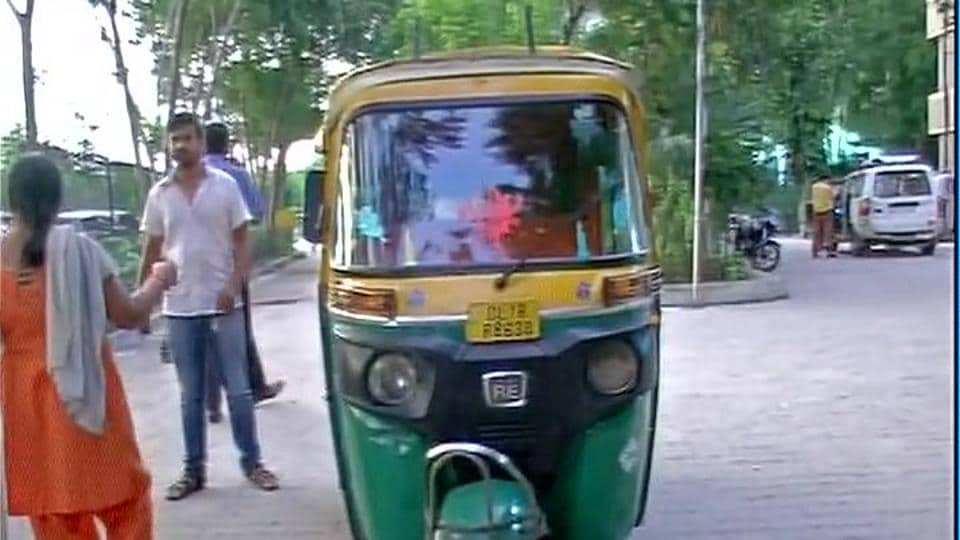 The woman was travelling from east Delhi's Shakarpur to Hauz Khas on Sunday evening.