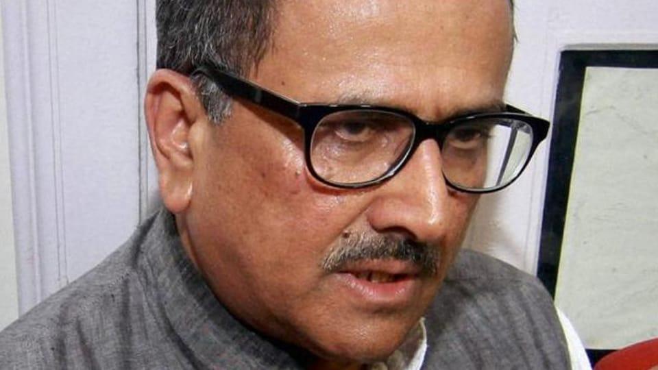 Jammu and Kashmir deputy chief minister Nirmal Singh.