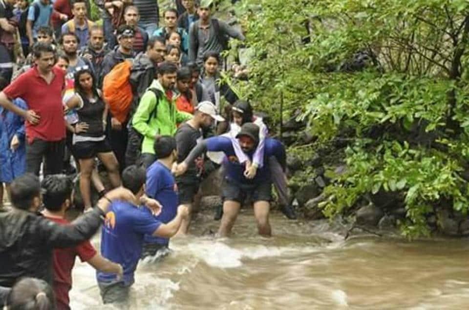 Mumbai city news,monsoon treks,raigad
