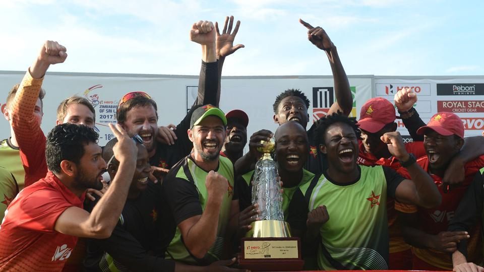 Zimbabwe recorded their first ever series win over Sri Lanka and third against a full member.