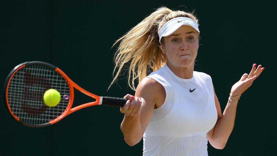 Elina Svitolina did not live up to expectations as a pre-tournament favourite.  (AFP)