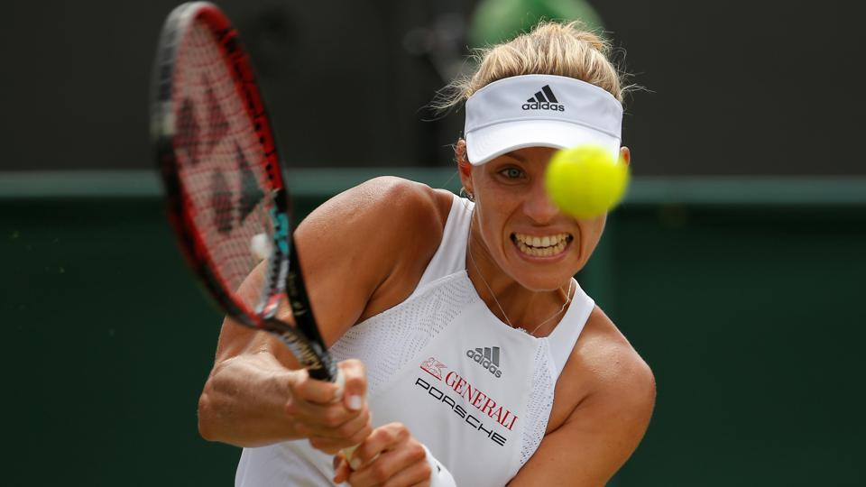 Angelique Kerber lost her match and her number one ranking in the process.  (REUTERS)