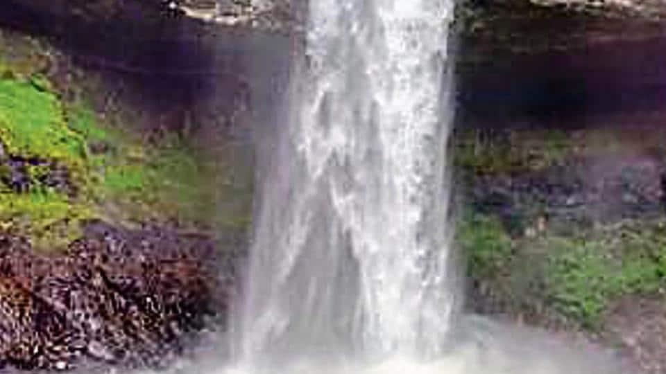 Devkund waterfall is a popular trekking spot located near Tamhini Ghat, 66km from Pune.
