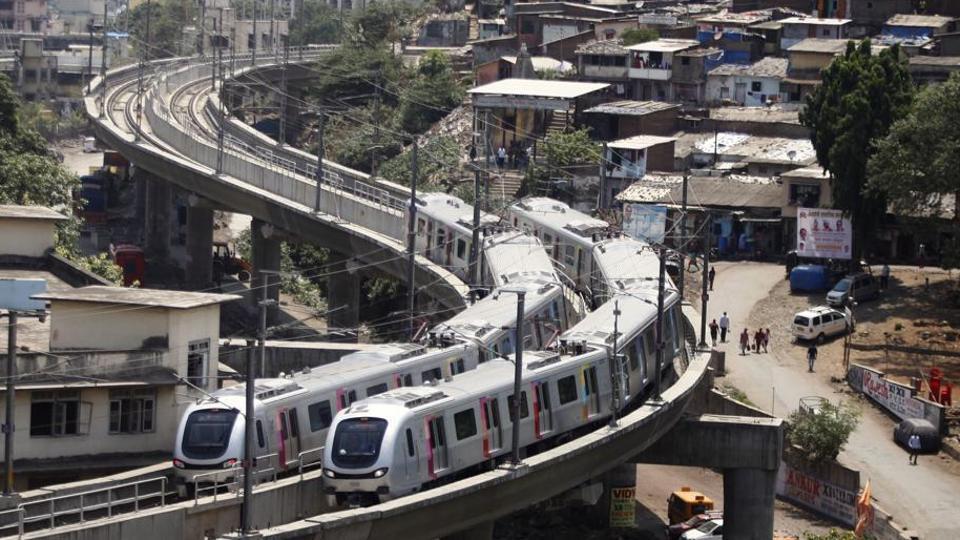 The crushers were installed on Monday at the DN Nagar, Andheri, Chakala, Marol Naka, Saki Naka and Ghatkopar metro stations.