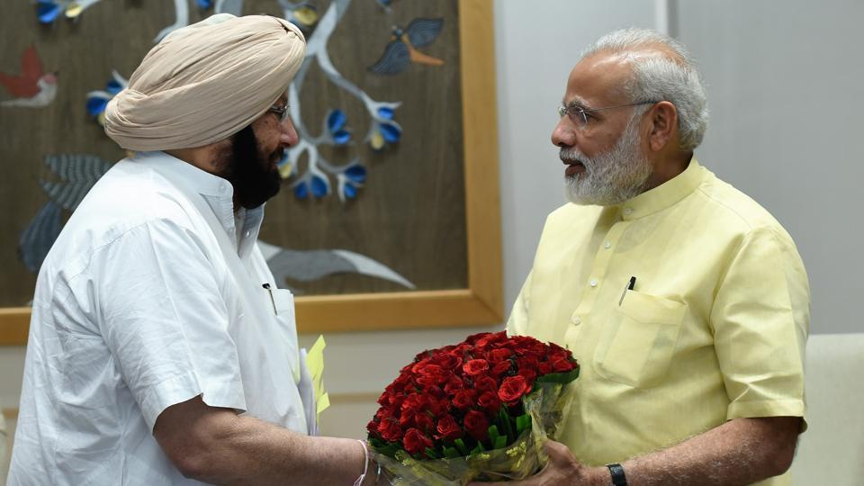 SYL row,GST,Punjab chief minister Captain Amarinder Singh