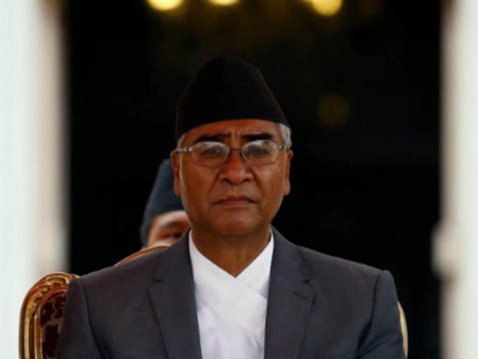 File photo of Nepal Prime Minister Sher Bahadur Deuba.