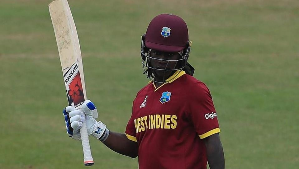 Deandra Dottin's unbeaten 104 helped West Indies record their second win in the ICC Women's World Cup 2017.