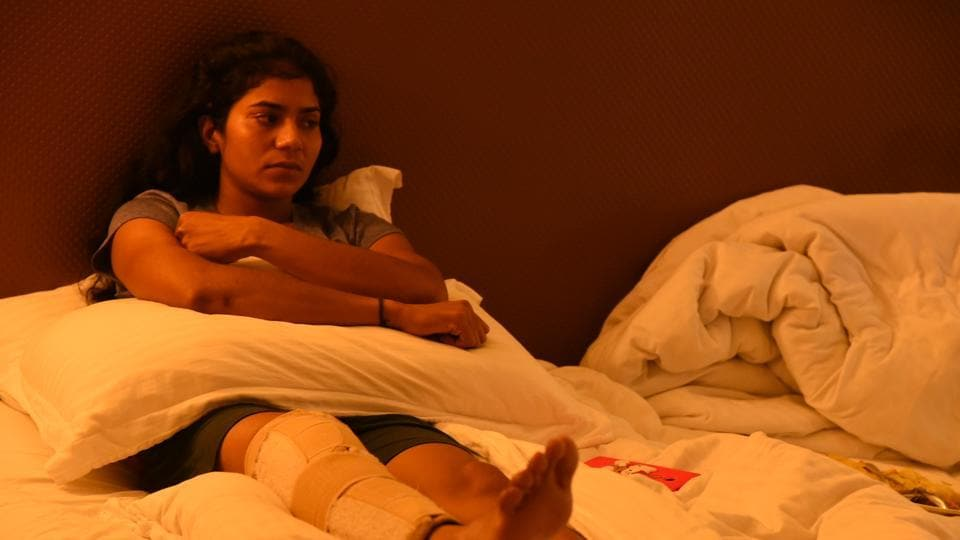 Kumari Sangeeta suffered a third degree injury at the Asian Athletics Championship which required surgery.