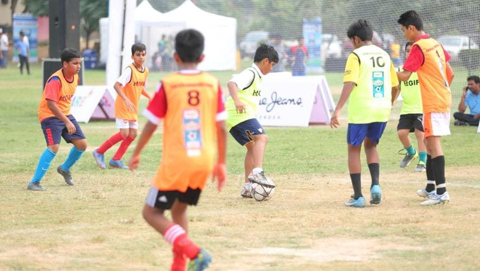 SARE Homes,HT GIFA,Great Indian Football Action