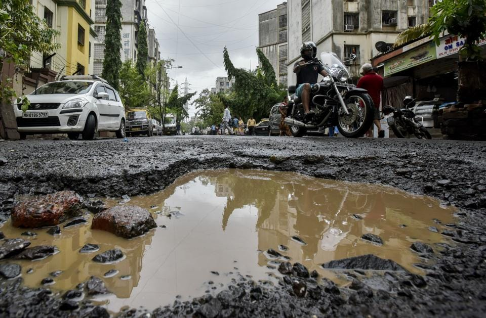 The BMC's move to buy expensive pothole material was prompted by the rap it got from the Bombay high court in 2016 for the pothole-ridden roads.