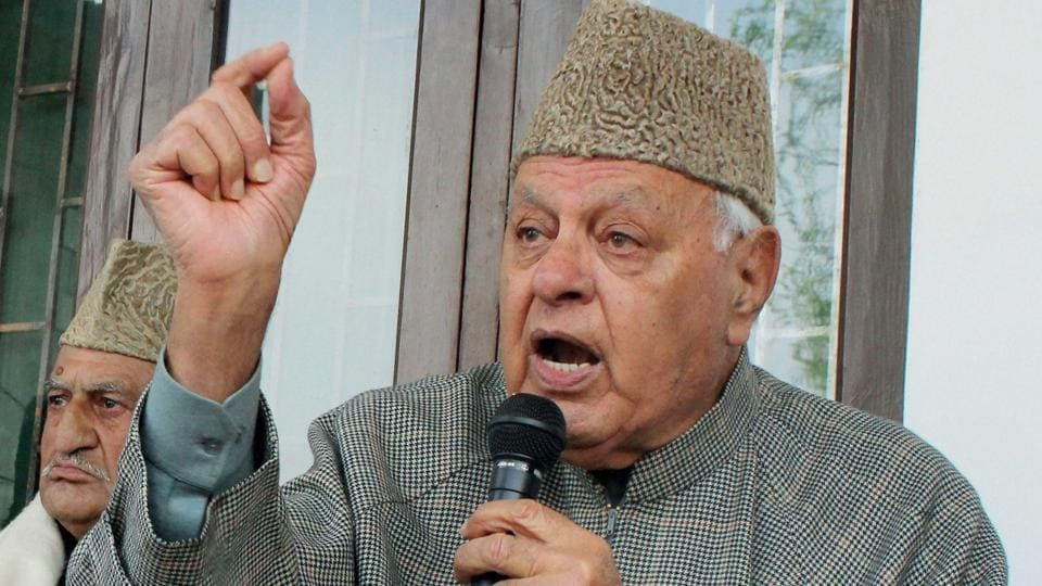 National Conference president Farooq Abdullah said he was worried about the 'repercussions' the attack may have outside the Valley.