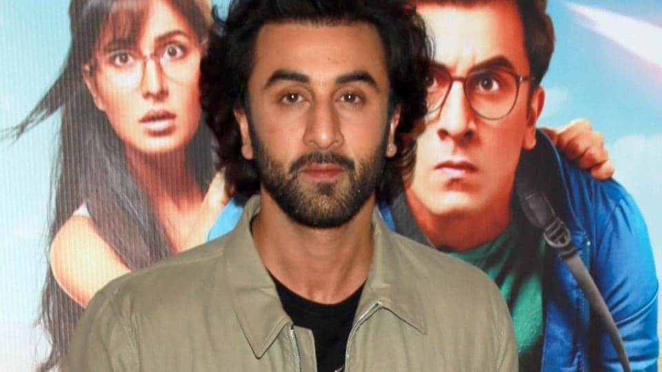 Ranbir Kapoor during a press meet for Jagga Jasoos in New Delhi on July 10.