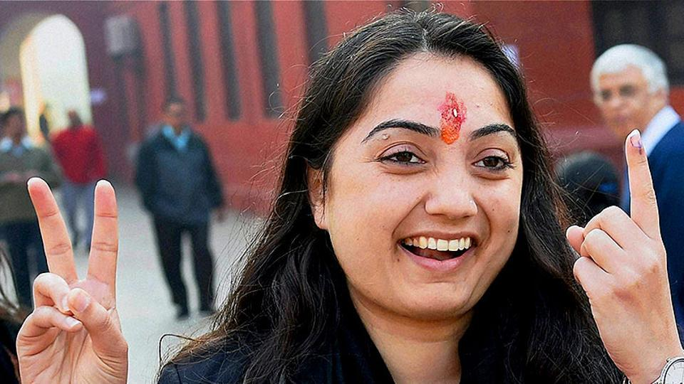 BJP leader Nupur Sharma has been accused of posting fake photos on social media. (PTI Photo)