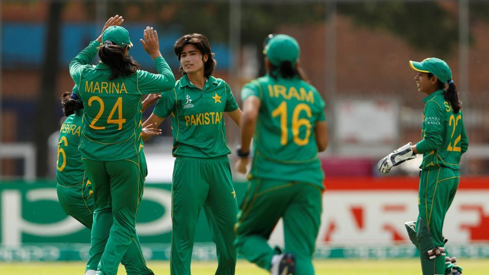 West Indies beat Pakistan by 19 runs (DLS) to record their second win in the ICC Women's World Cup 2017. Get full cricket score of Pakistan vs West Indies here