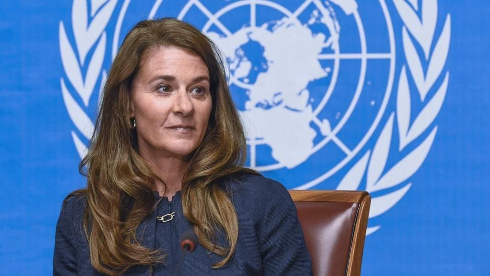 Melinda Gates, co-chair of the Bill & Melinda Gates Foundation one of the world's most powerful philanthropic organisations which is working in the battle against a raft of diseases, attends a press conference on the sidelines of the World Health Assembly, on May 20, 2014, in Geneva.