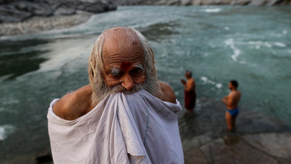 The River Ganga begins as a confluence of the Alaknanda and Bhagirathi rivers high in Devprayag with its waters crystal clear, but pollution and excessive human influence transform it into toxic sludge as it courses through India's holiest cities, agricultural and industrial belts, merging finally into the Bay of Bengal. (Danish Siddiqui / Reuters)