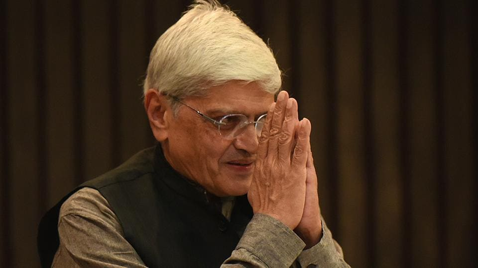 Gopalkrishna Gandhi, Mahatma Gandhi's grandson, is the Opposition's candidate for the vice-presidential elections. (File Photo)