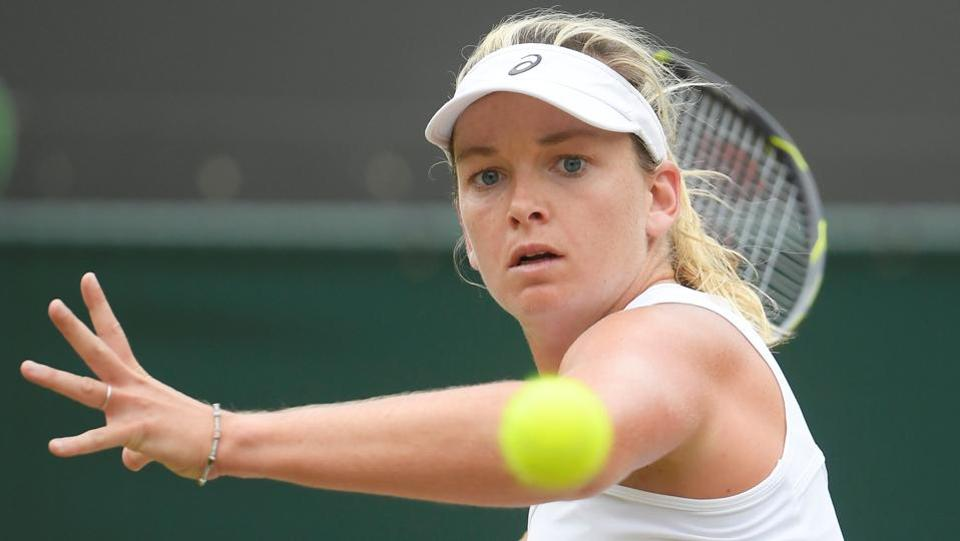 Coco Vandeweghe saw her match get suspended and delayed due to rain playing spoilsport.  (REUTERS)