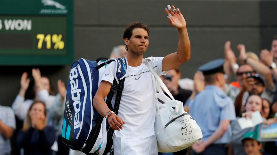 Wimbledon 2017,Rafael Nadal,Gilles Muller
