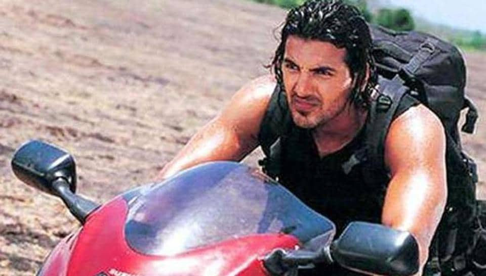 The youngsters were inspired by the Hindi movie Dhoom.