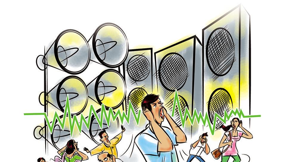 Sumaira Abdulali from NGO Awaaz Foundation said noise levels during festivals in Mumbai could reach 123.7 decibels (dB) — as loud as a thunderclap.
