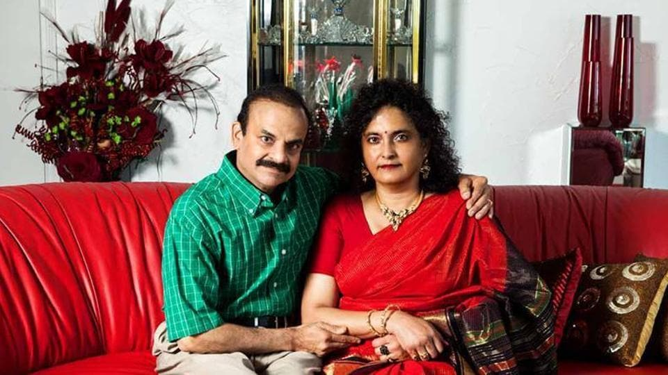 Indian-American doctor couple - Umamaheswara Kalapatapu (L) and his wife Sitha-Gita - died in a plane crash in Ohio.