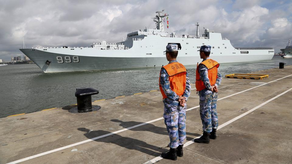 China sends forces to first overseas base