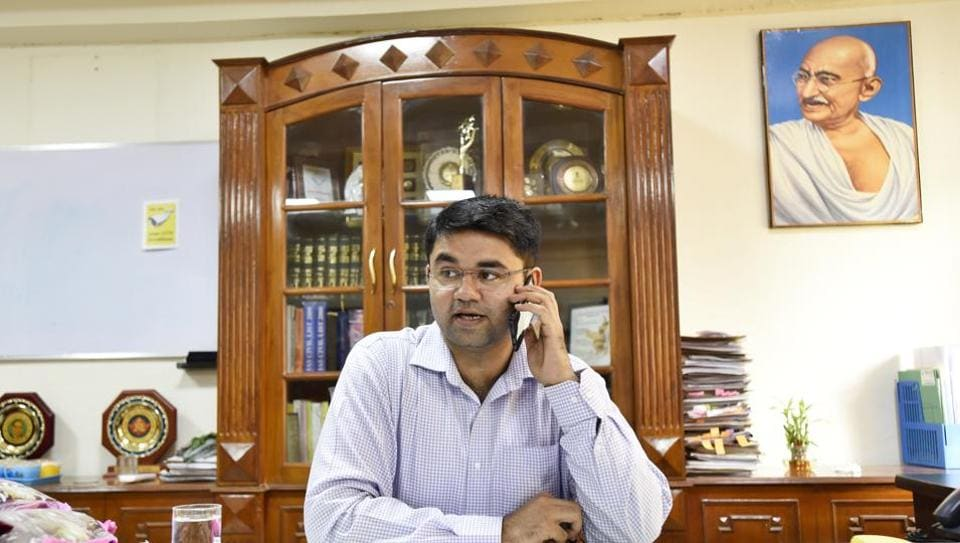 Vinay Pratap Singh, newly appointed as the deputy commissioner of Gurgaon, is all of 29 years.