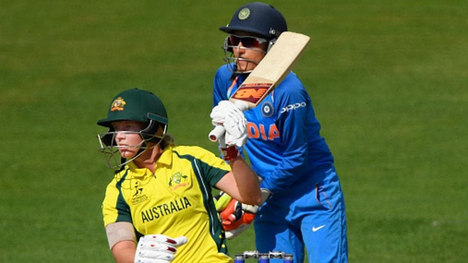 Australia thrashed India by eight wickets to enter the semi-finals of ICC Women's World Cup 2017.