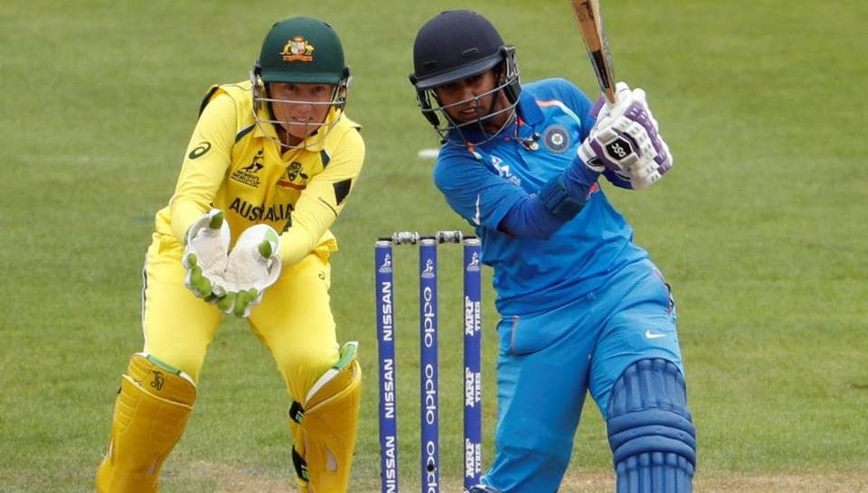 Cricket - Australia vs India - Women's Cricket World Cup - Bristol, Britain - July 12, 2017 India's Mithali Raj in action Action Images via Reuters/John Sibley