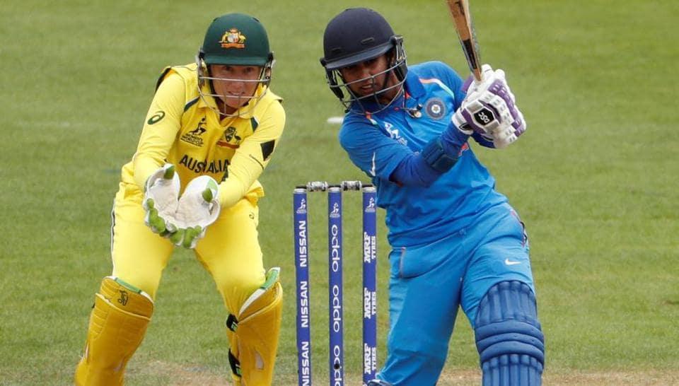 Cricket - Australia vs India - Women's Cricket World Cup - Bristol, Britain - July 12, 2017 India's Mithali Raj in action Action Images via Reuters/John Sibley
