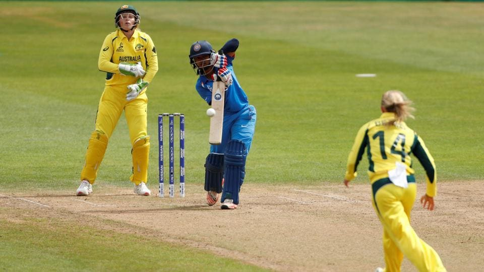 Punam Raut and Mithali Raj steadied the ship as they looked to revive India. (Action Images via Reuters)