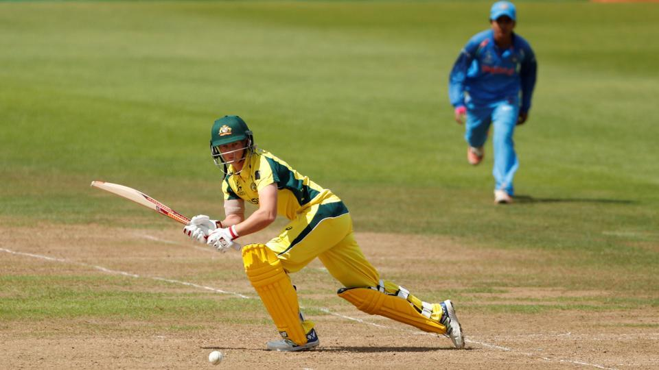 Meg Lanning continued the good work and Australia were on course for a win. (Action Images via Reuters)