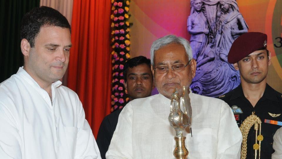 Rahul Gandhi,Nitish Kumar,Grand Alliance