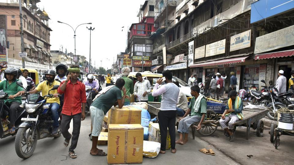 Encroachment is a major problem in Chandni Chowk. The government is planning to revamp the city of Shahjahanabad but the plan has been hanging fire for over a decade.
