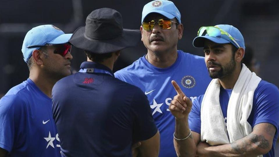 Indian cricket team's new head coach Ravi Shastri shares a good rapport with captain Virat Kohli.