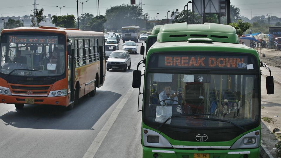 Delhi news,Delhi buses,DTC buses