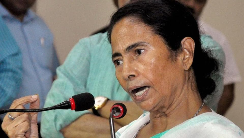 West Bengal Chief Minister Mamata Banerjee addressing a press conference at Nabanna (State Secretariat) in Kolkata on Wednesday.