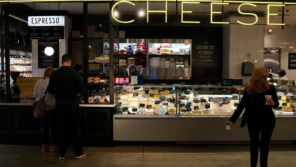 Representative Image |The Cheese section is pictured inside a Whole Foods Market in the Manhattan borough of New York City.