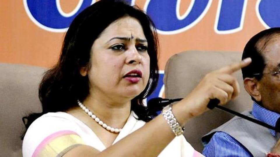 BJP's spokespersonMeenakshi Lekhi
