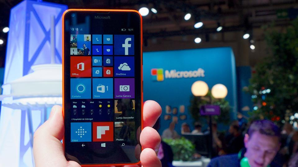 Microsoft's Windows OS phones have been in the market for the past three years.