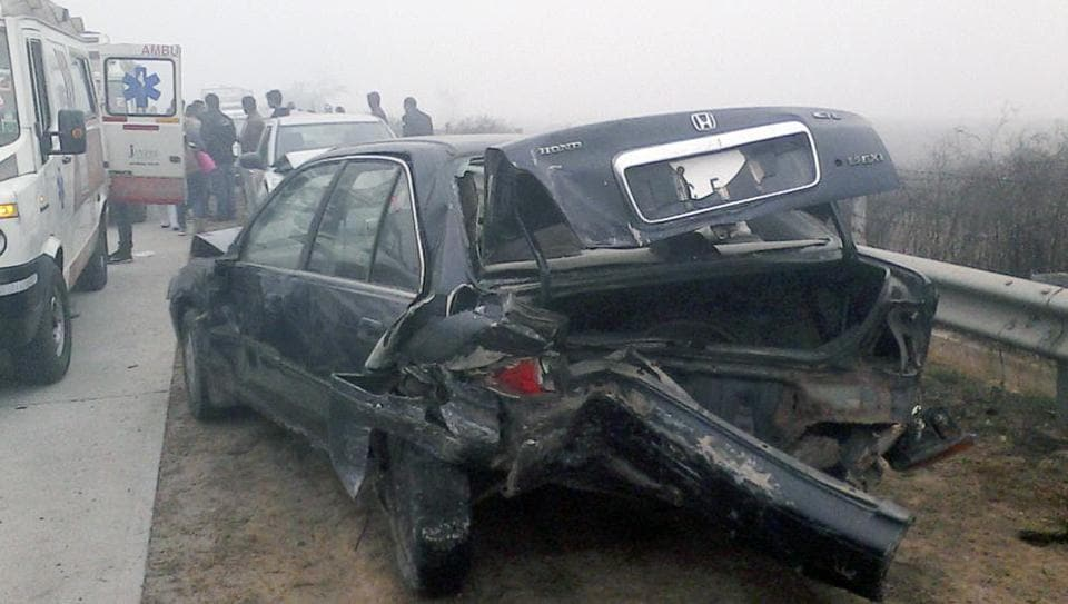 Increasing number of accidents on the Yamuna Expressway was a cause for concern.