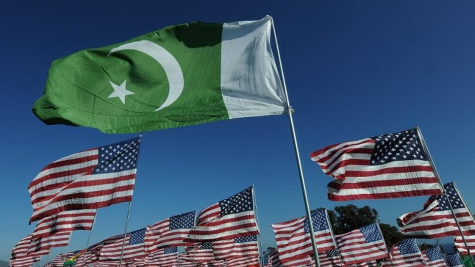 Representative Image |The flag of Pakistan representing a 9/11 victim from that country, flies amongst American flags erected by students and staff from Pepperdine University in Malibu.