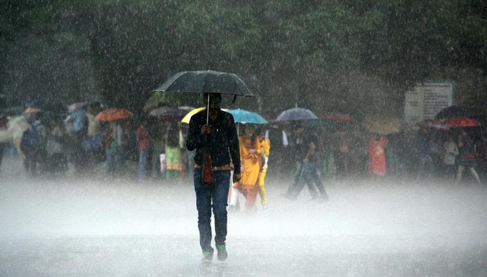 Various parts of Himachal Pradesh received moderate to heavy rainfall on Wednesday.