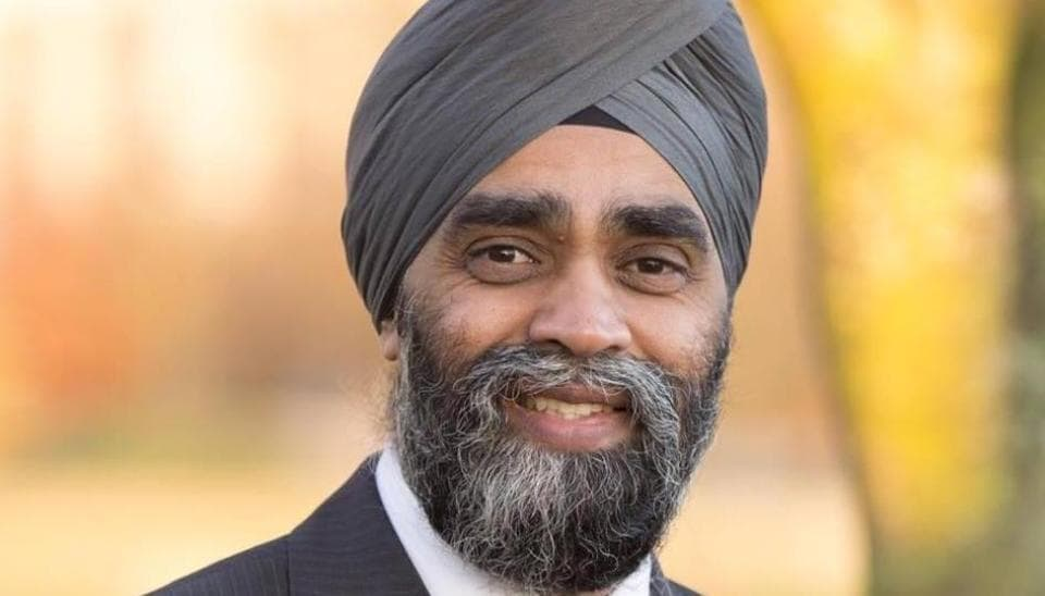 Canada Minister Harjit Singh Sajjan filmed littering, video goes viral