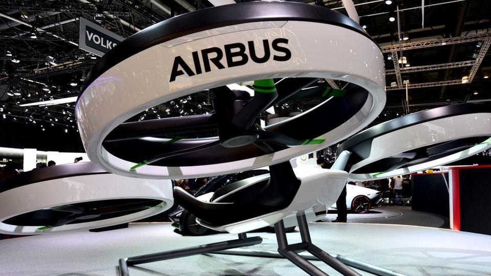 Airbus,Flying cars,Pilotless aircraft